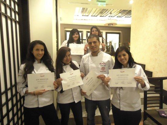 Swissotel Quito: Diploma de Participación