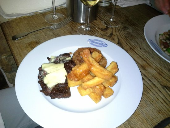 The Kingham Plough Restaurant: Hangar Steak