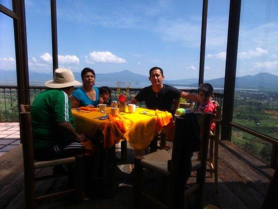 Eco-hotel Ixhi: restaurant
