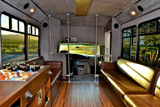Hop On Beer Tours Lux Accommodations Aboard Our Custom Bus