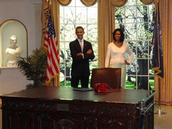 Madame Tussauds New York : Barack Obama e Michelle Obama