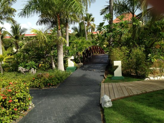 Paradisus Palma Real Golf & Spa Resort : Beautiful grounds