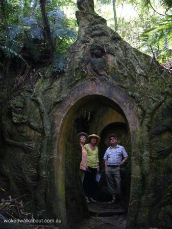 William Ricketts Sanctuary, Dandenong Ranges, Australia