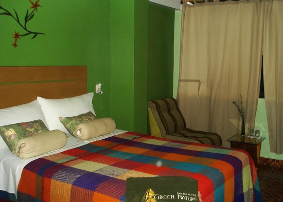 Machu Picchu Green Nature: Interior habitacion