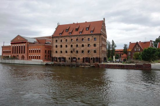 Krolewski Hotel: From across the canal