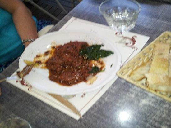 Trattoria Lo Stracotto: Beef in peppercorn sauce