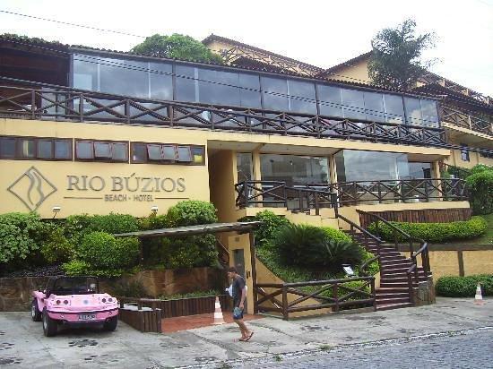 Rio Buzios Beach Hotel: Frente do hotel