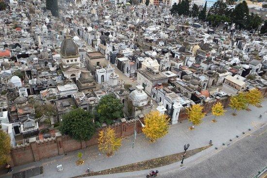 Cyan Recoleta Hotel: cemitério da recoleta (10 andar Cyan recoleta)