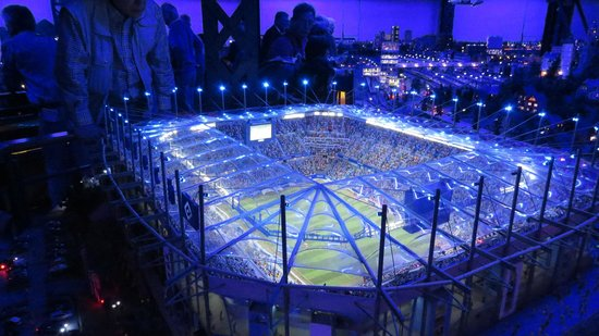 Miniatur Wunderland: Um estádio