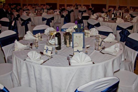 Wookey Hole Hotel: Table Layout