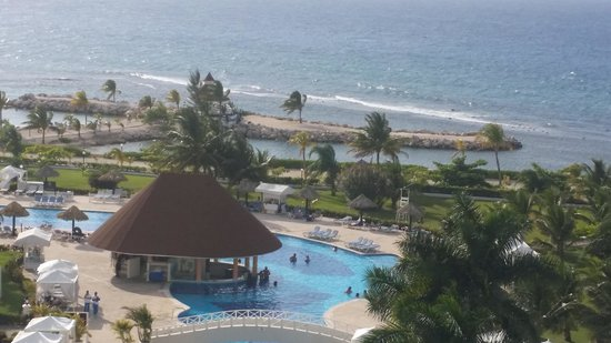 Luxury Bahia Principe Runaway Bay Don Pablo Collection: View from our balcony