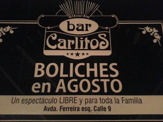 Bar y pizzeria Carlitos: Lo que se viene en Agosto!