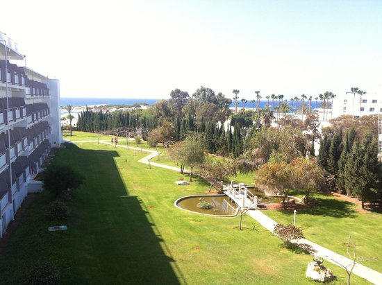 Asterias Beach Hotel: View from the bedroom