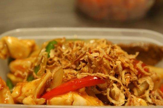 Wok U Like Chinese Takeaway Chicken With Thai Sweet Chilli Sauce
