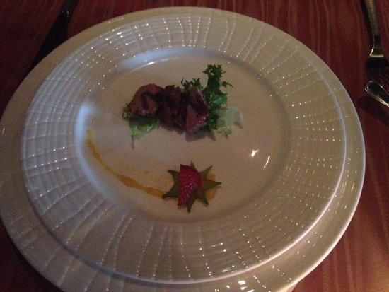 Now Jade Riviera Cancun : Capers -- Duck salad