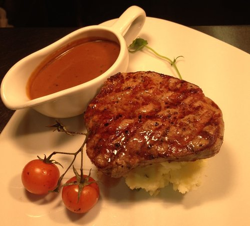 Petite Fillet Steak at West29 Restolounge, Westcourt Hotel