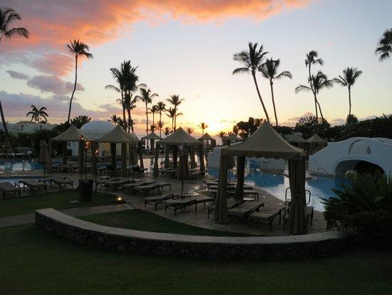 Fairmont Kea Lani, Maui: SUNSET