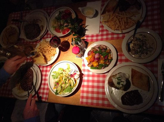 Block House Eberhardstrasse : Our feast for four