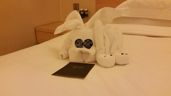 Hilton Singapore: Last day and Jacy Liu cheer me up with this surprise