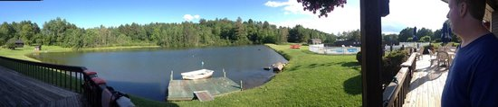 Commodores Inn: Panoramic of the lake!!!