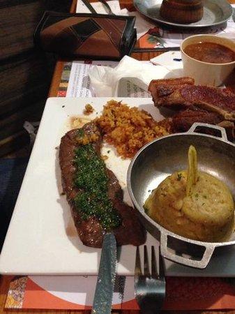 Restaurante Raices: churrasco
