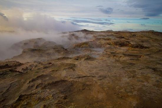 Gunnuhver Hot Springs: Gunnuhver geothermal area