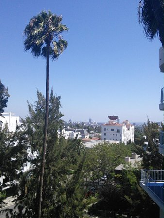 The Standard, Hollywood: View from room 210