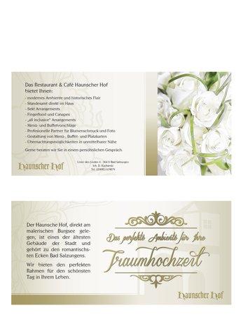 Haunscher Hof: Flyer