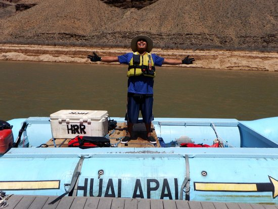 Hualapai River Runners: Whitewater captain Jeron