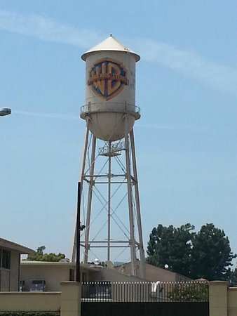 Warner Bros. Studio Tour Hollywood: The famous Warner Bros. water tower