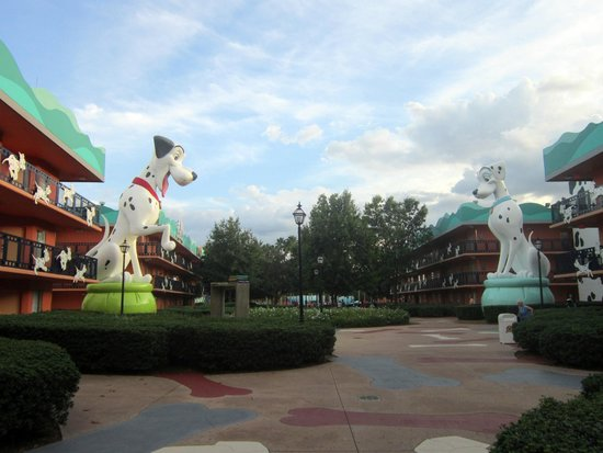 Disney's All-Star Movies Resort: Área dos Dálmatas