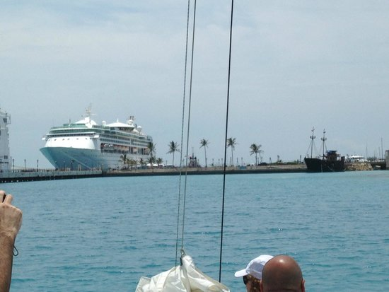 Hat Trick Charters: harbor view