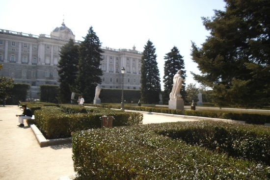 Jardines de Sabatini: Vista Geral