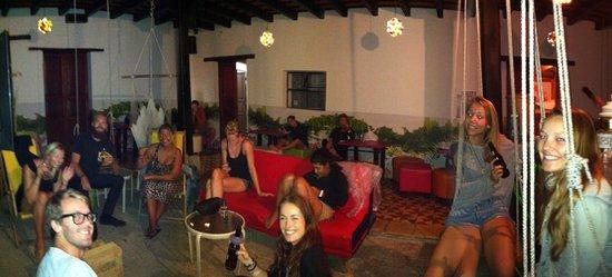 Jungle Party Hostal Club & Restaurant: Nice people to meet tonight