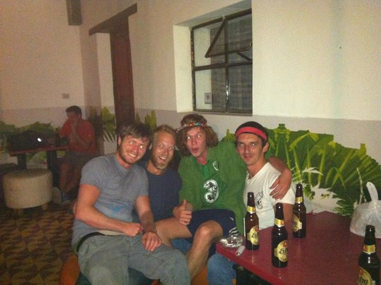 Jungle Party Hostal Club & Restaurant : and the boys!!!