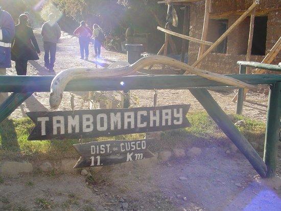 Tambomachay: entrada