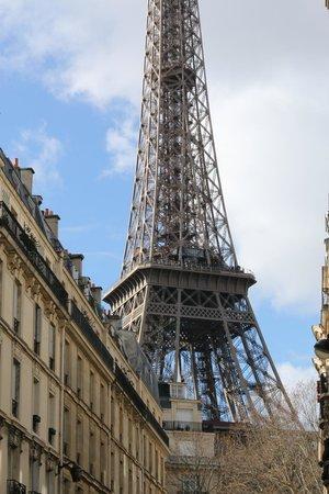 Tour Eiffel : Inverno em Paris