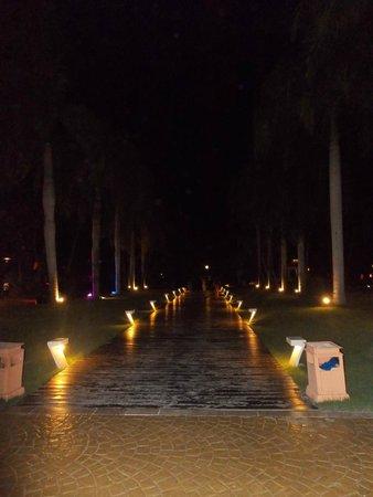 Catalonia Bavaro Beach, Casino & Golf Resort: caminho até a recepção