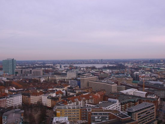 Hauptkirche St. Michaelis: City view