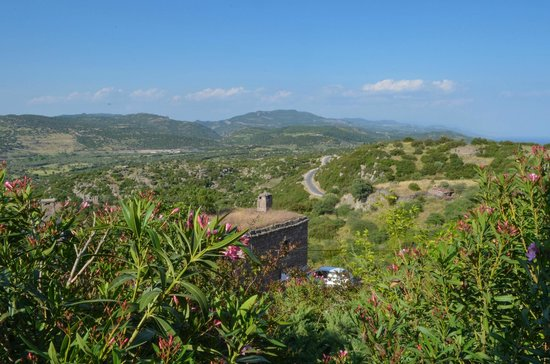 Assos Alarga, Bed and Breakfast: View from our Bedroom Window