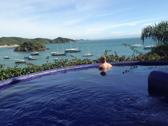 Vila d'este : Vista da piscina