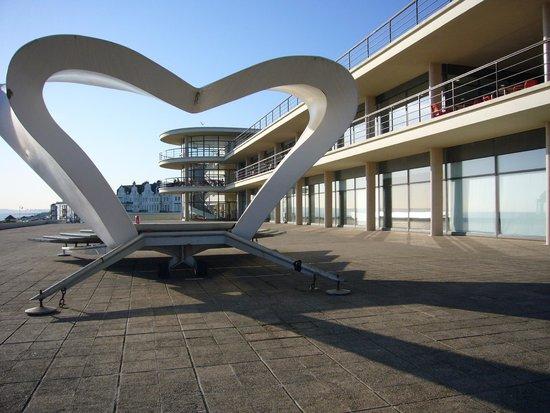 De La Warr Pavilion: The bandstand