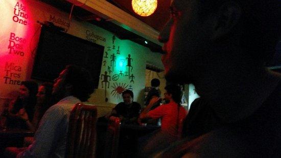 Hostel Kasa Guane : Los jueves hay noche de microfono abierto en la terraza. Ideal para pasar un buen rato con amigo
