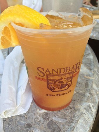 Sandbar Restaurant: Sandbar Sunset- Great Drink