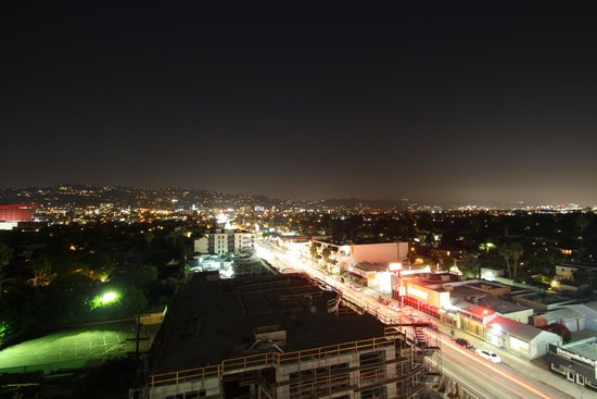Sofitel Los Angeles at Beverly Hills : View whilst confined to room due to bar closed for private party