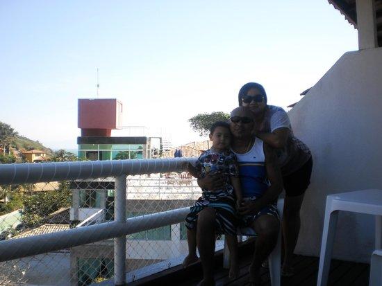Hotel Pousada Experience Joao Fernandes: Da sacada do quarto
