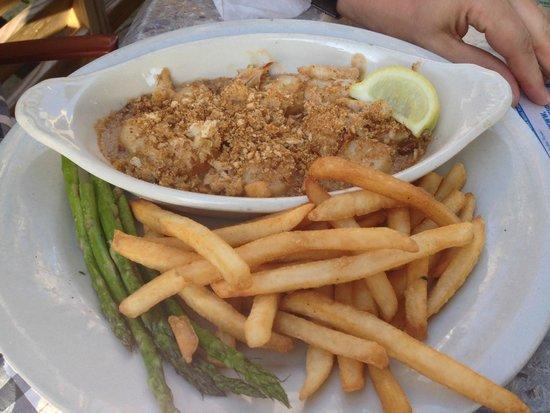 Sandbar Restaurant: Scallops Starter