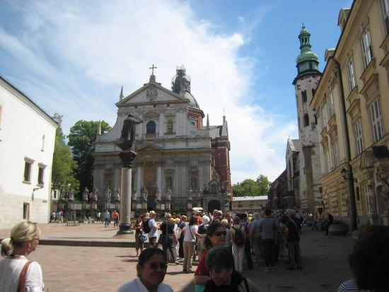 Cracovia: uma das igrejas