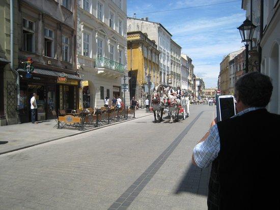 Cracovia: outro lugar turistico