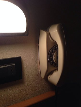 Hotel Globus: Телефон в номере